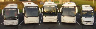 Donoghues Coaches Fleet