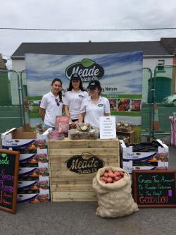 The MPc stand at the Clonmellon Potato Festival sold out of our New Season Queens - there's a great appetite for delicious spuds in Westmeath!