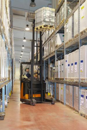 Warehousing at Virgina Logistics