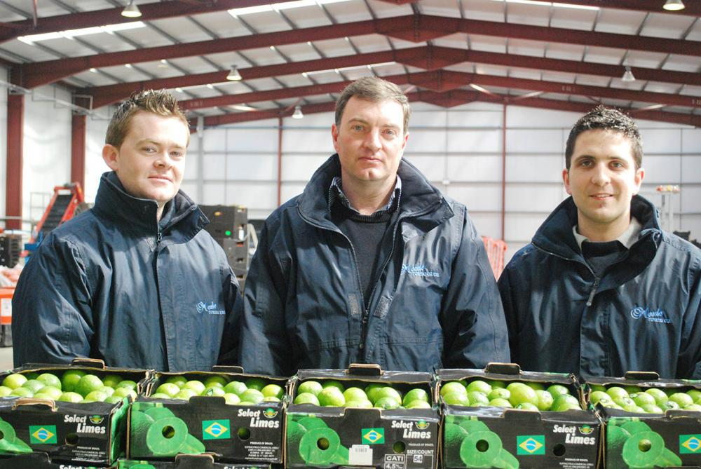Daniel, Rodney and James of our Fruit Division