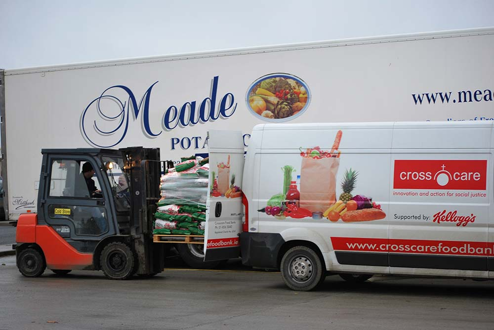 Meade Potato Co. contributing to Cross Care