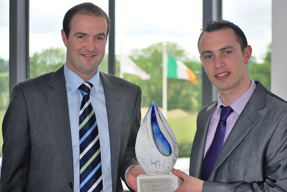 Ulster Bank Business Achievers Award, Best Agri Business, 2012-13
