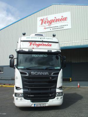 Virgina Logistics trucking company ireland