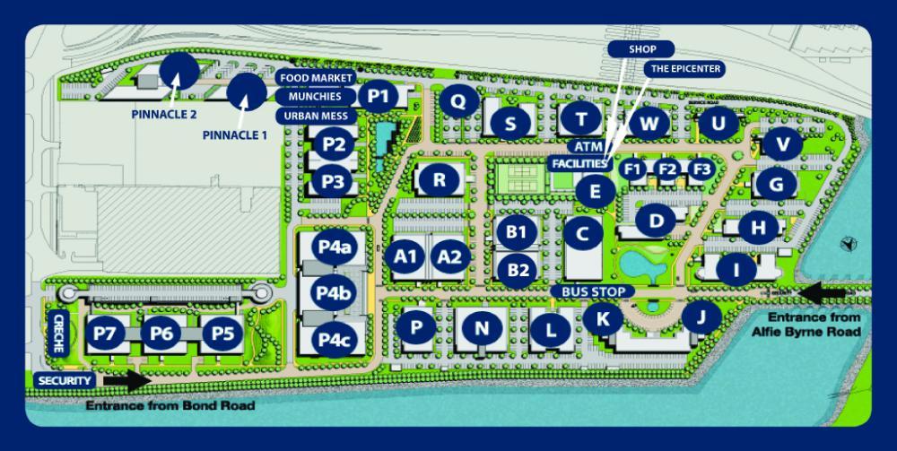 Eastpoint - Park map