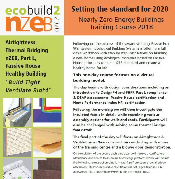 EcoBuild to nZEB Training Course
