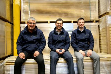 Ecological Building Systems UK team