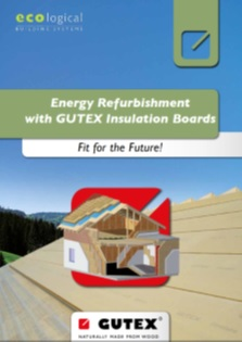 Energy Refurbishment with Gutex Insulation Boards