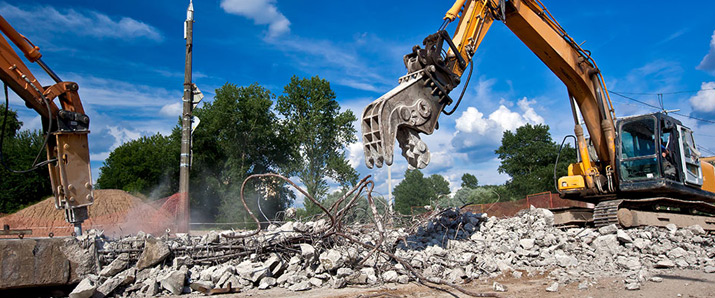 Shanowen Plant Hire - Demolition