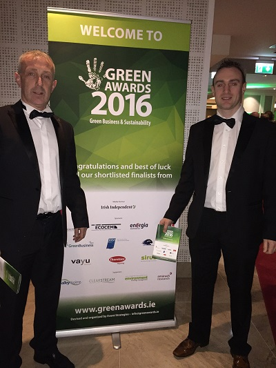 Agribusiness Awards, Finalist, Green SME of the Year, 2015