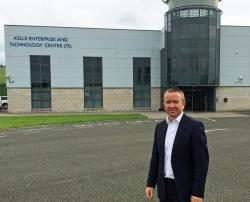 Gary O'Meara from Meath Enterprise pictured outside the Kells Enterprise & Technology Centre where the new Kells Tech Hub will be located.