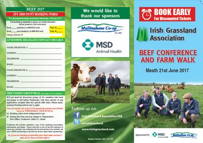 Beef Conference leaflet