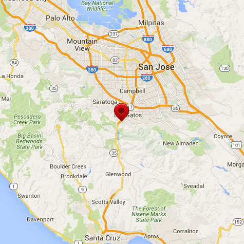 Accuris Networks Inc Contact Us - Us map silicon valley