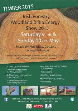 Irish Forestry, Woodland and Bio Energy Show