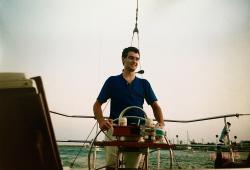 Matthew as an engineer around 1996