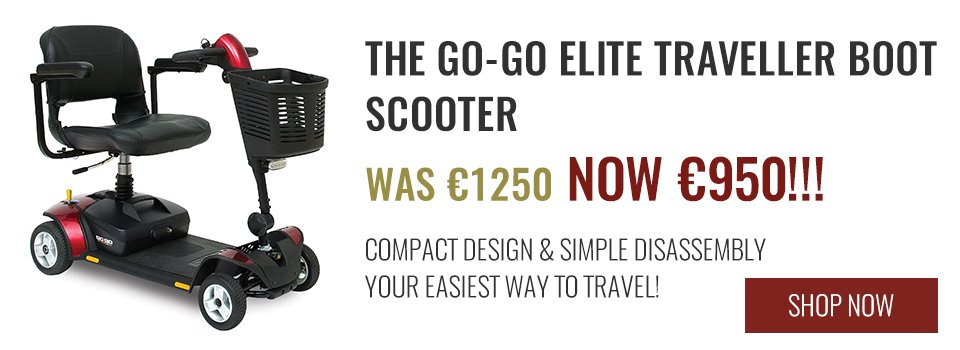 ISB Mobility - The GO-GO Elite traveller boot scooter