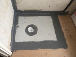 Level Access Wet Shower Area