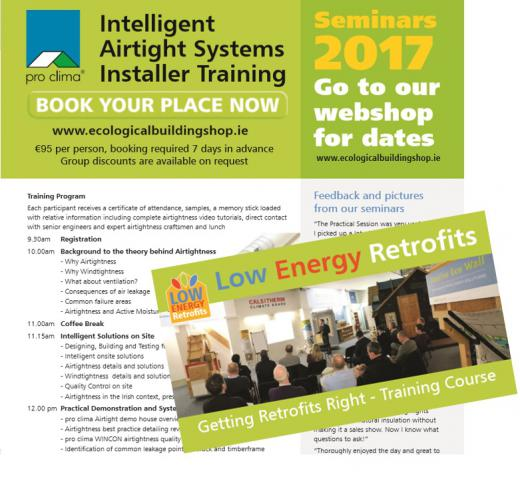 Airtightness & Low Energy Retrofit Training Courses