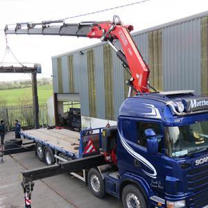 Matthews Transport - Truck & Crane Hire