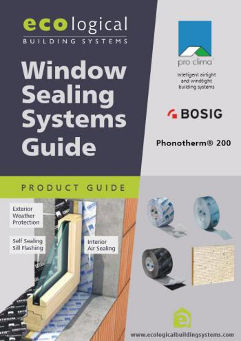 Ecological - Window Sealing Systems Guide
