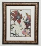 Framed Floral Print