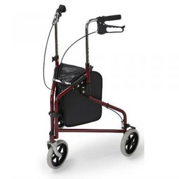 Three Wheeled Walker & Bag