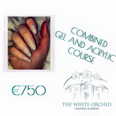 COMBINED Gel & Acrylic Nail Technician Training