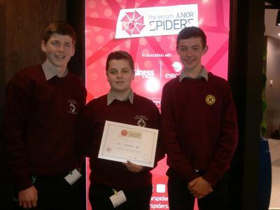 Eircom Junior Spiders Awards