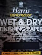 Wet & Dry Finishing Paper