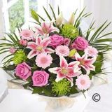 Pink Extravagance Hand-tied Bouquet