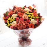 Large Autumn Hand-tied Bouquet