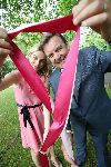 Bryan and Pippa at national launch of www.pinkribbonwalk.ie