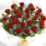 Extra Large Heavenly Rose Hand-tied - Red