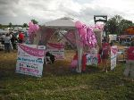 Pink Ribbon Walk tent