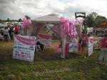 Pink Ribbon Walk tent