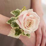 Rose wrist corsage