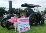 Pink Ribbon Walk - full steam ahead!