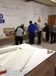 Fibreglass Training Course taking place here at our Factory Premises