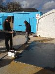 Preparing  A flat Roof at Training Course