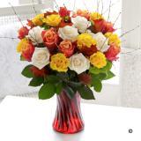 Autumn Rose Vase Extra Large