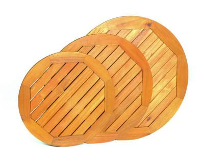 ACACIA Wood Tops Round