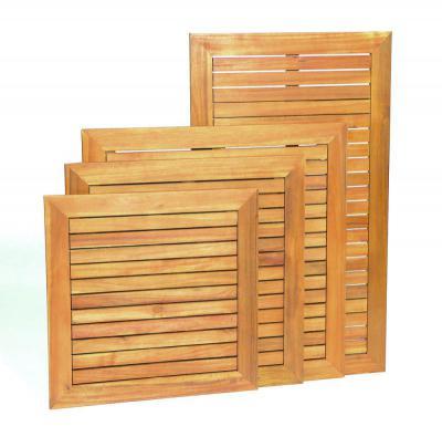 ACACIA Wood Tops Square
