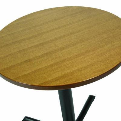 Ash Veneer Top Round Oak