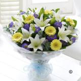 Baby Boy Hand-tied Bouquet Large