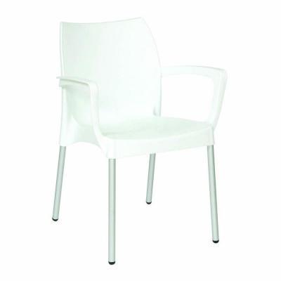 Bach Armchair white