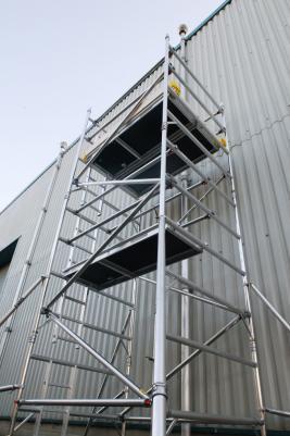 8ft x 5ft Aluminuim Tower