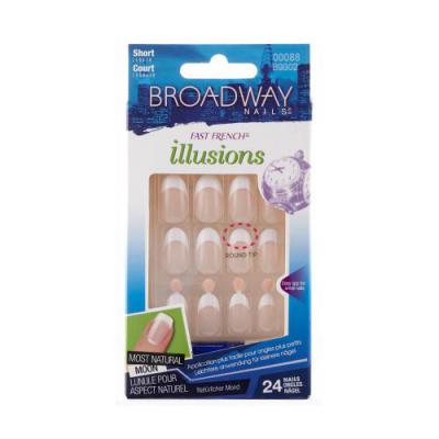 Broadway Nails Fast French Illusions - Obliviou...