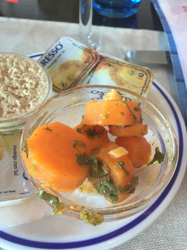 Algarve Marinated Carrot Appetiser