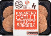 Habanero Chilli Turkey Burger