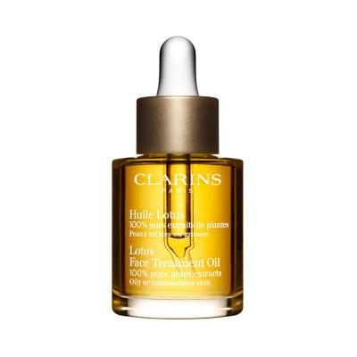 Clarins Lotus Face Treatment Oil For Oily O...