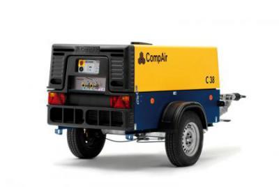 110cfm Road Compressor
